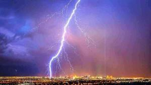 پیشبینی احتمال رگبار و رعد و برق در تهران
