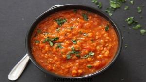 طرز تهیه خورش عدس اسپایسی؛ با طعمی تند و پختی سریع