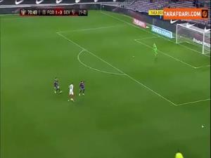 پنالتی از دسترفته سویا مقابل بارسلونا