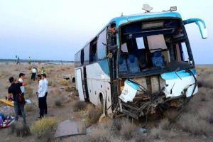 تصادف مرگبار اتوبوس با کامیون در رودان با 6 کشته