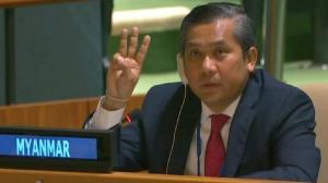 نماینده منصوب کودتاگران میانمار در سازمان ملل استعفا کرد