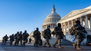 درخواست ادامه حضور گارد ملی آمریکا در واشنگتن