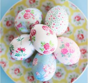 آموزش دکوپاژ تخم مرغ رنگی سفره هفت سین