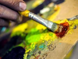 داستانک/ نقاش خوش فکر