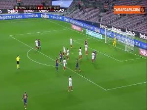 خلاصهبازی بارسلونا 3 - سویا 0