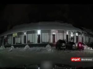 وقتی برف ها یکباره ذوب میشود