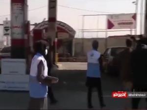 گزارشی از کنترل و رعایت پروتکل های بهداشتی در پمپ بنزین ها