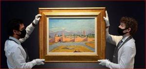 نقاشی چرچیل با عنوان