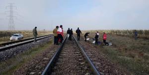 فوت جوان قمی در اثر برخورد با قطار