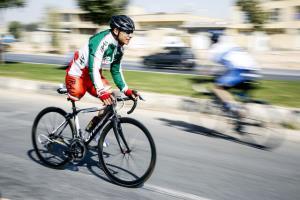 تلاش تنها دوچرخه سوار پارالمپیکی برای حضور در توکیو