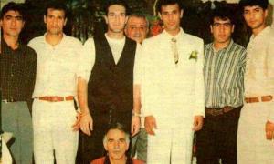یحیی گلمحمدی در لباس دامادی