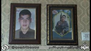 بازگشت پیکر شهید مدافع حرم پس از  ۴ سال به قم