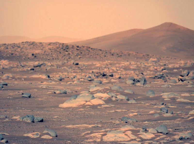 تصاویر کاوشگر ناسا از مریخ
