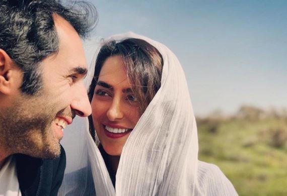 چهره ها/ وقتی هادی کاظمی همسرش «سمانه پاکدل» را سورپرایز میکند!