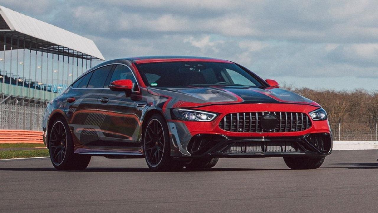 مرسدس AMG GT چهار درب هیبریدی تأیید میشود