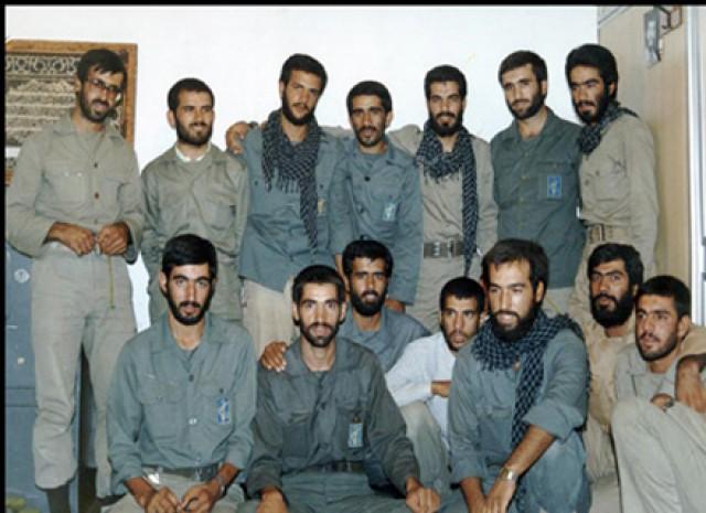 عکس/ 10 فرمانده شهید در یک قاب!