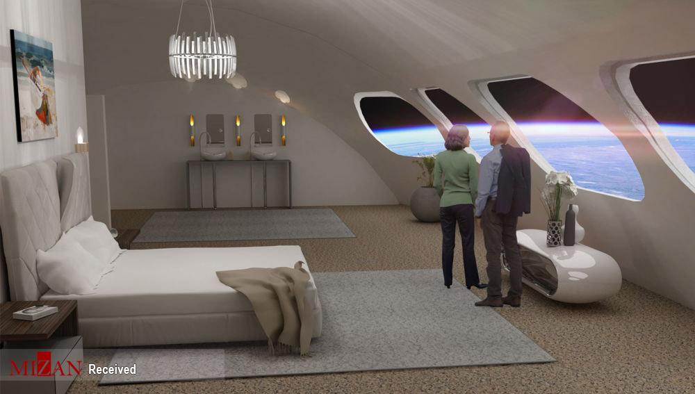 عکس/ افتتاح اولین هتل فضایی