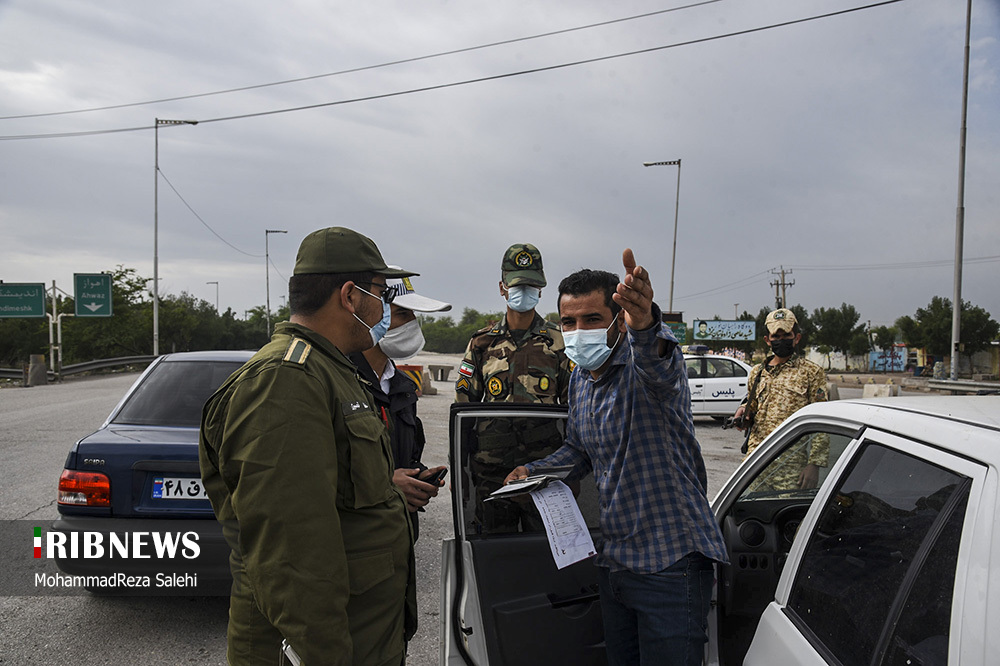 ممنوعیت ورود و خروج خودروها به اهواز