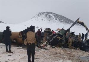 سقوط بالگرد نظامی ترکیه در شرق این کشور