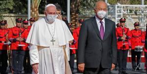 رئیسجمهور عراق با پاپ فرانسیس دیدار کرد