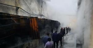 کشتارگاه طیور در آتش سوخت