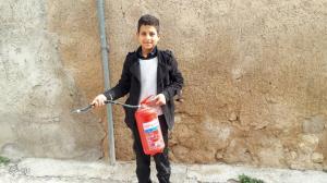 نوجوان کازرونی از وقوع یک فاجعه جلوگیری کرد