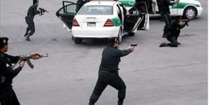 درگیری تن به تن مأمور پلیس با سارق مسلح در شمال تهران