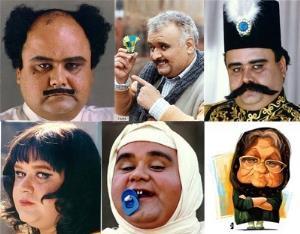 متفاوتترین گریمهای سینمای ایران به بهانه روز جهانی گریم