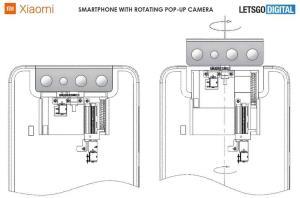 حق اختراع شیائومی برای دوربین پاپ آپ-چرخان را ببینید