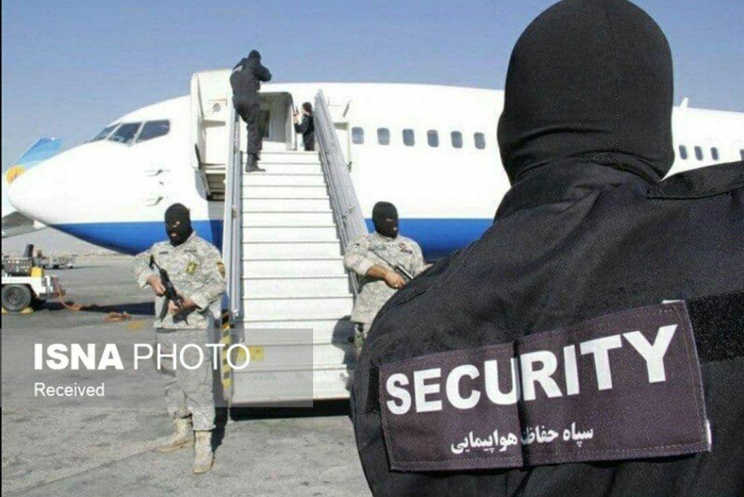 انتشار اولین تصویر از هواپیماربایی پرواز اهواز به مشهد