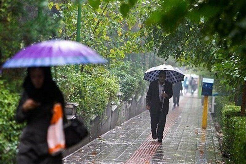 آسمان همه شهرستانهای خراسان رضوی دیشب بارانی بود