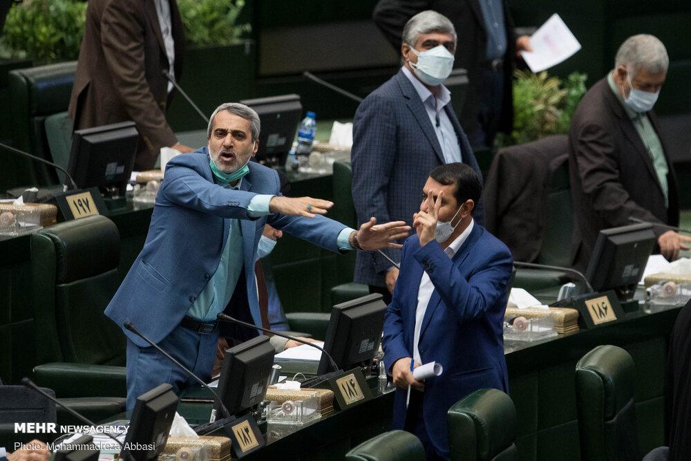 حاشیه های صحن علنی مجلس