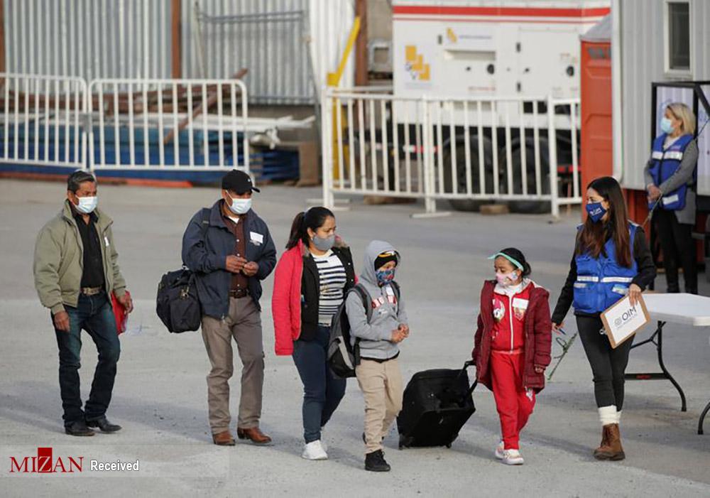 باز شدن مرزها به روی پناهجویان آمریکا