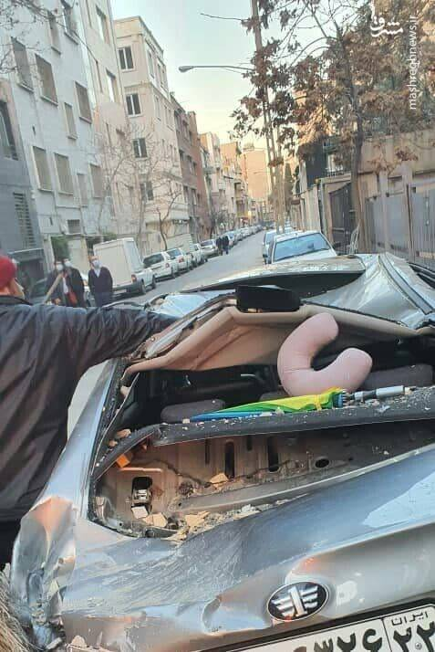 انفجار یک ساختمان براثر نشت گاز
