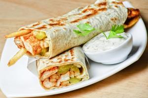 روش عالی برای شاورمای عربی خانگی و خوشمزه