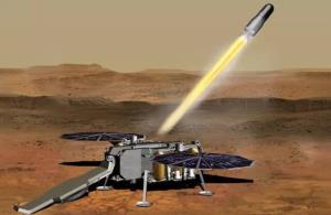 آورنده نمونههای مریخی