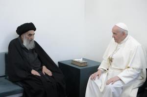 محور ملاقات پاپ با آیتالله سیستانی چه بود؟