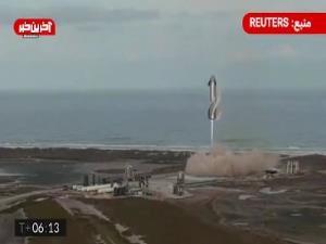 دهمین نمونه موشک استارشیپ شرکت اسپیس ایکس با وجود فرود موفقیتآمیز، منفجر شد