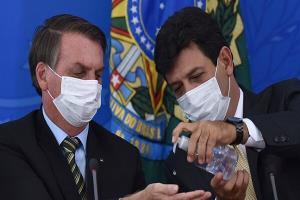 توصیه ترامپ برزیل به مردم؛ درباره کرونا «غُر» نزنید