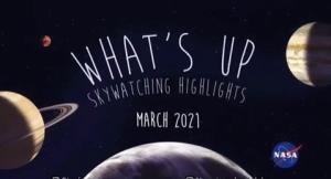 رویداد های نجومی ماه مارس