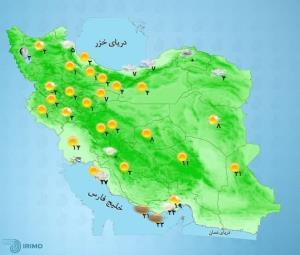 پیشبینی وضعیت آب و هوا؛ بارش برف و باران در ۳ استان
