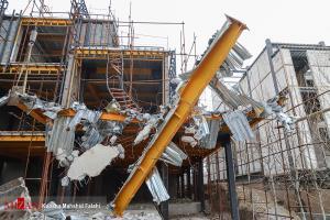 عکس/ آغاز تخریب ساخت و سازهای غیر قانونی در کلاک