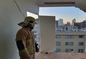 انفجار شدید یک ساختمان اداری در تهران
