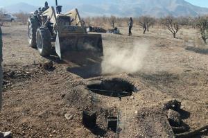 چاههای غیر مجاز مسدودی در مهاباد به ۶۳ حلقه رسید