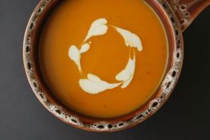 سوپ کدو تنبل بریانی
