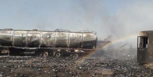 جزئیات انفجار مخازن گازوئیل در یک کیلومتری پایانه ماهیرود