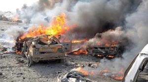 انفجار انتحاری در سومالی با ۵۰ کشته و مجروح