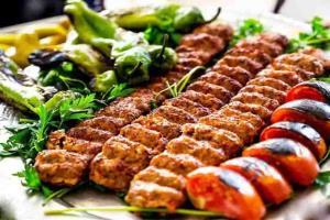 کباب خلیج �ارس مخصوص خوشمزه و مجلسی با سبزیجات