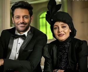 کل کل ساره بیات با محمدرضا گلزار در سریال «گیسو»