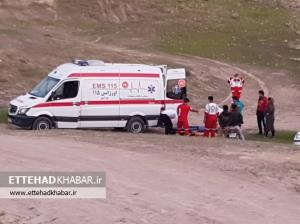 امدادرسانی به بانوی کوهنورد در ارتفاعات کوه بهمرد